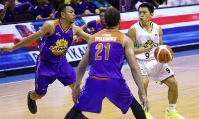 Tiebreaker Times GlobalPort picks up surprising wire-to-wire win over TNT to even slate Basketball News PBA  Yousef Taha TNT Katropa Stanley Pringle Roger Pogoy PBA Season 43 Nico Elorde Kelly Williams Jayson Castro Globalport Batang Pier Bradwyn Guinto 2017-18 PBA Philippine Cup