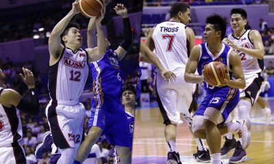 Philippine Sports News - Tiebreaker Times Kiefer Ravena, Jeron Teng rekindle rivalry this time in the pro ranks Basketball News PBA  PBA Season 43 NLEX Road Warriors Kiefer Ravena Jeron Teng Alaska Aces 2017-18 PBA Philippine Cup