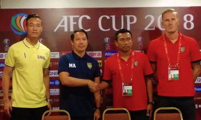 Tiebreaker Times Patrick Deyto, Global-Cebu eager to bounce back at Bali United's expense AFC Cup Football News  Widodo Putro Patrick Deyto Nick Van der Velder Marjo Allado Global-Cebu FC Bali United 2018 AFC Cup