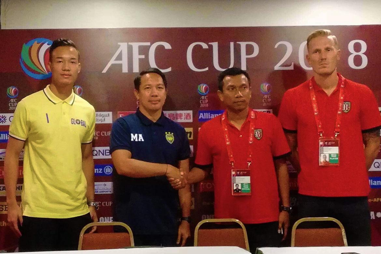 Tiebreaker Times Patrick Deyto, Global-Cebu eager to bounce back at Bali United's expense AFC Cup Football News  Widodo Putro Patrick Deyto Nick Van der Velder Marjo Allado Global-Cebu FC Bali United 2018 AFC Cup