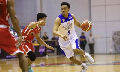 Tiebreaker Times Samboy de Leon delivers in clutch to lift Che'Lu-San Sebastian past AMA Basketball News PBA D-League SSC-R  Stevenson Tiu Samboy de Leon Robbie Manalang RK Ilagan Michael Calisaan Mark Herrera Genmar Bragais Che'lu-San Sebastian Revellers Carlo Escalambre AMA Online Education Titans Alfred Batino 2018 PBA D-League Season 2018 PBA D-League Aspirants Cup