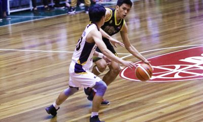 Tiebreaker Times Aris Dionisio rallies Gamboa-St. Clare past Perpetual Basketball News PBA D-League UPHSD  Trevis Jakcson Trevis Jackson Rey Anthony Peralta Perpetual Seniors Basketball Mohammed Pare John Rey Villanueva Jinino Manansala Gamboa-St. Clare Coffee Lovers Frankie Lim Edgar Charcos Aris Dionisio