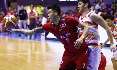 Philippine Sports News - Tiebreaker Times Poy Erram pours his heart out, lifts Blackwater Basketball News PBA  PBA Season 43 JP Erram Blackwater Elite 2017-18 PBA Philippine Cup