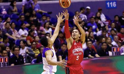 Tiebreaker Times Ginebra locks down Troy Rosario-less TNT in final frame, posts back-to-back wins Basketball News PBA  TNT Katropa Tim Cone Scottie Thompson Roger Pogoy PBA Season 43 Nash Racela Mo Tautuaa LA Tenorio Kelly Williams Jayson Castro Japeth Aguilar Greg Slaughter Barangay Ginebra San Miguel 2017-18 PBA Philippine Cup