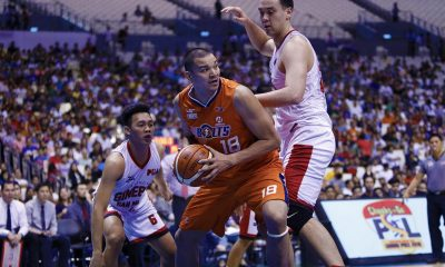 Philippine Sports News - Tiebreaker Times 'Buenas lang' for Meralco's unexpected hero Jason Ballesteros Basketball News PBA  PBA Season 43 Norman Black Meralco Bolts Jason Ballesteros 2017-18 PBA Philippine Cup