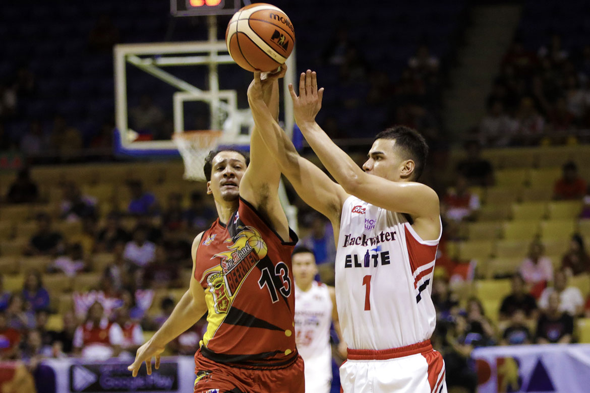 Tiebreaker Times Mike DiGregorio dedicates win to harshest critic: His mother Basketball News PBA  PBA Season 43 Mike DiGregorio Blackwater Elite 2017-18 PBA Philippine Cup