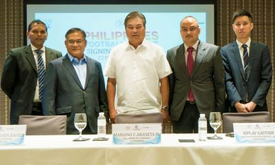 Tiebreaker Times PFL, Sportradar sign deal for online broadcast platform Football News PFL  Nonong Araneta Lazarus Xavier 2018 PFL Season
