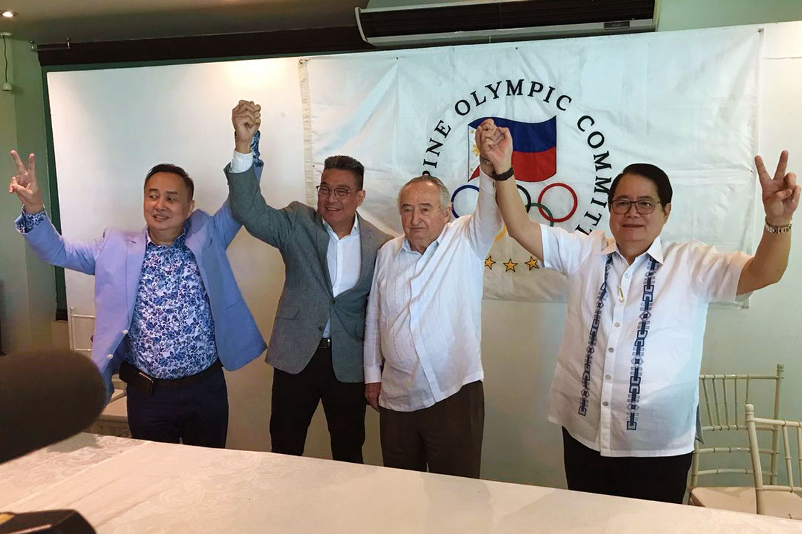 Ricky Vargas gets green light to fight Peping Cojuangco for POC presidency