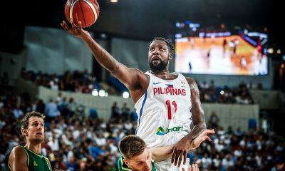 Philippine Sports News - Tiebreaker Times Andray Blatche satisfied with play as he is now 'injury-free' 2019 FIBA World Cup Qualifiers Basketball Gilas Pilipinas News  Andray Blatche 2019 FIBA World Cup Qualifiers Group B 2019 FIBA World Cup Qualifiers