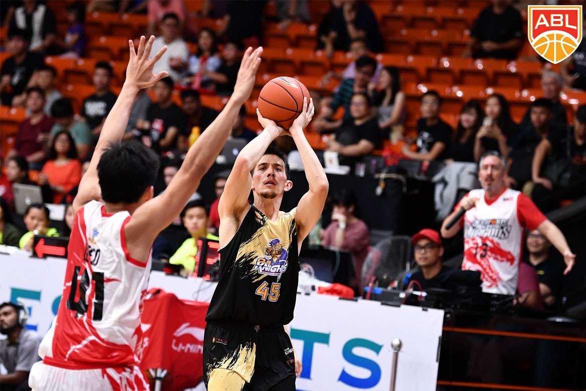Tiebreaker Times Debuting Keith Jensen proves worth as CLS downs Joshua Munzon, Westports Malaysia ABL Basketball News  Westsports Malaysia Dragons Shane Edwards Patrick Cabahug Mario Wuysang Kuek Tian Yuen Keith Jensen Joshua Munzon CLS Knights Brian Williams Biboy Enguio 2017-18 ABL Season