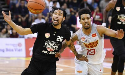 Tiebreaker Times Mikh McKinney, Chong Son exact vengeance on Mikey Williams, Saigon ABL Basketball News  Saigon Heat Mikhael McKinney Michael Williams Maxie Esho Justin Howard Chong Son Kung Fu Caelan Tiongson Anthony Tucker Akeem Scott 2017-18 ABL Season