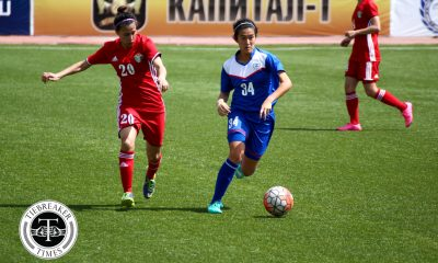 Tiebreaker Times Sara Castaneda sits out 2018 AFC Women's Asian Cup Football News Philippine Malditas  Sara Castaneda Ernie Nierras 2018 AFC Women's Asian Cup