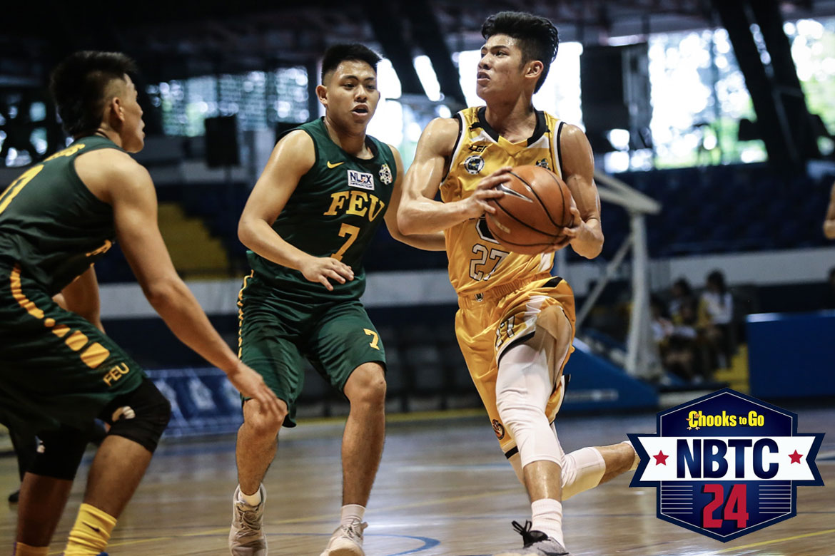 Tiebreaker Times Letran to make 'all out' pitch to CJ Cansino Basketball CSJL NCAA News  Philippine Sports News NCAA Season 94 Seniors Basketball NCAA Season 94 Letran Seniors Basketball CJ Cansino