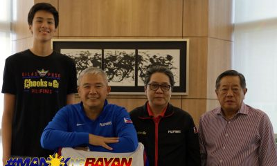 Philippine Sports News - Tiebreaker Times Chooks-to-Go pledges to expose Kai Sotto overseas Basketball Gilas Pilipinas News  Ronald Mascarinas Kai Sotto Chot Reyes Chooks-to-Go 2023 FIBA World Cup