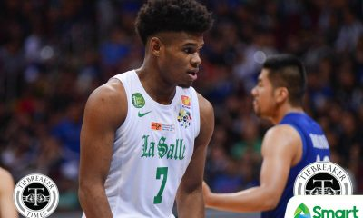 Philippine Sports News - Tiebreaker Times Mark Dyke back in La Salle Basketball DLSU News UAAP  UAAP Season 81 Men's Basketball UAAP Season 81 Mark Dyke DLSU Men's Basketball