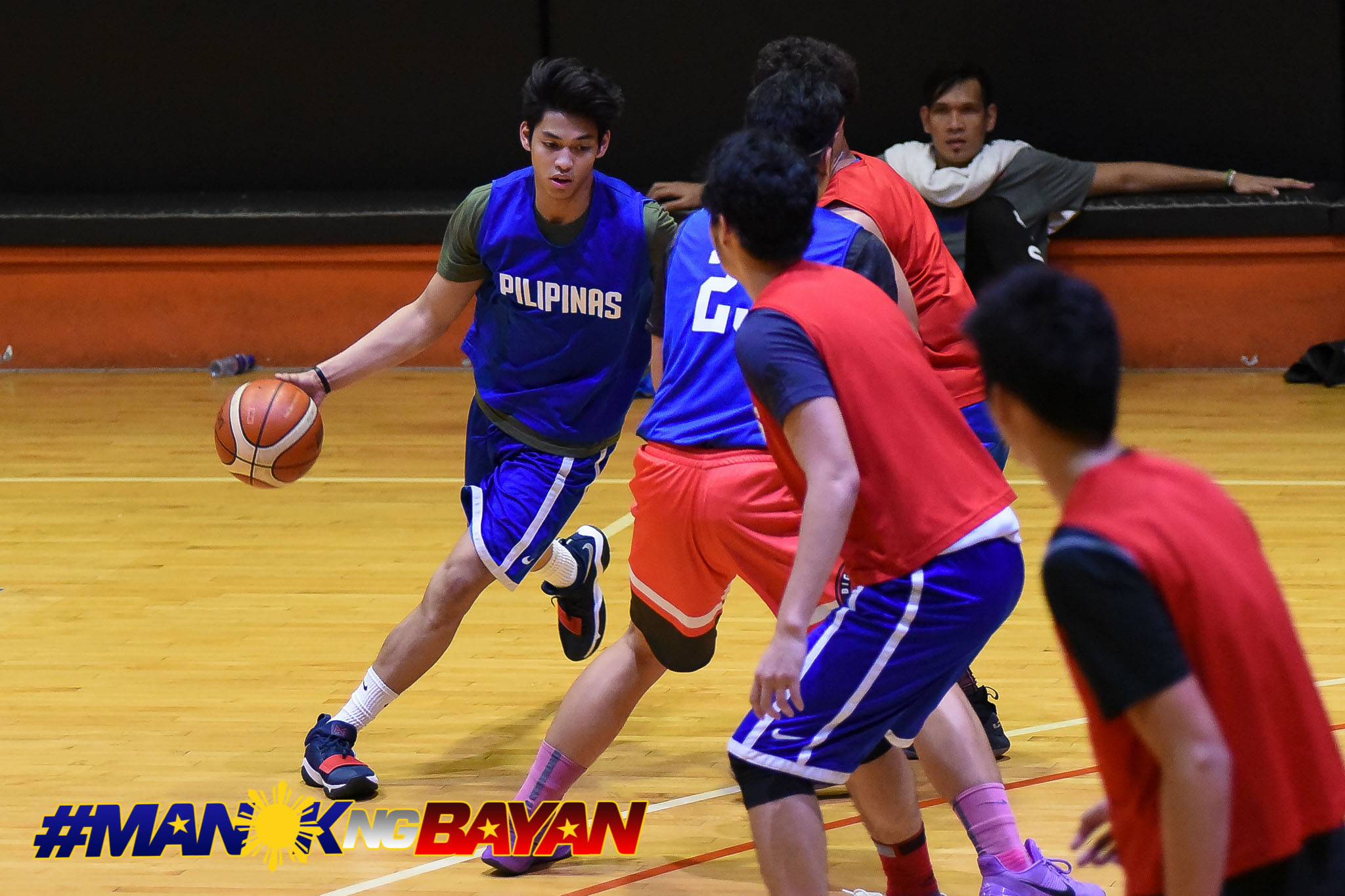 Tiebreaker Times Ricci Rivero elated to train with Kiefer Ravena, Gilas Basketball Gilas Pilipinas News  Ricci Rivero 2023 FIBA World Cup