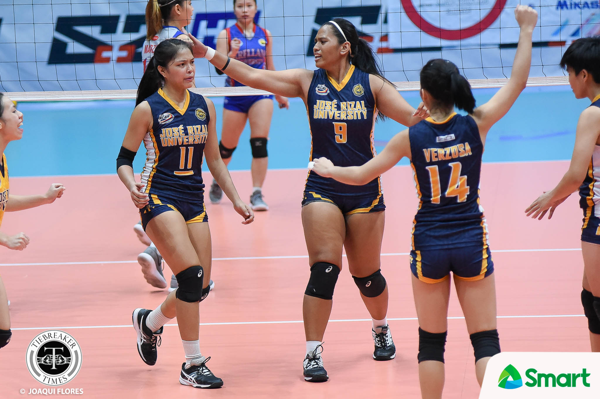 Tiebreaker Times Shola Alvarez leaves lasting mark on JRU, sets sight on beach volley JRU NCAA News Volleyball  Shola Alvarez NCAA Season 93 Women's Volleyball NCAA Season 93 Mia Tioseco JRU Women's Volleyball