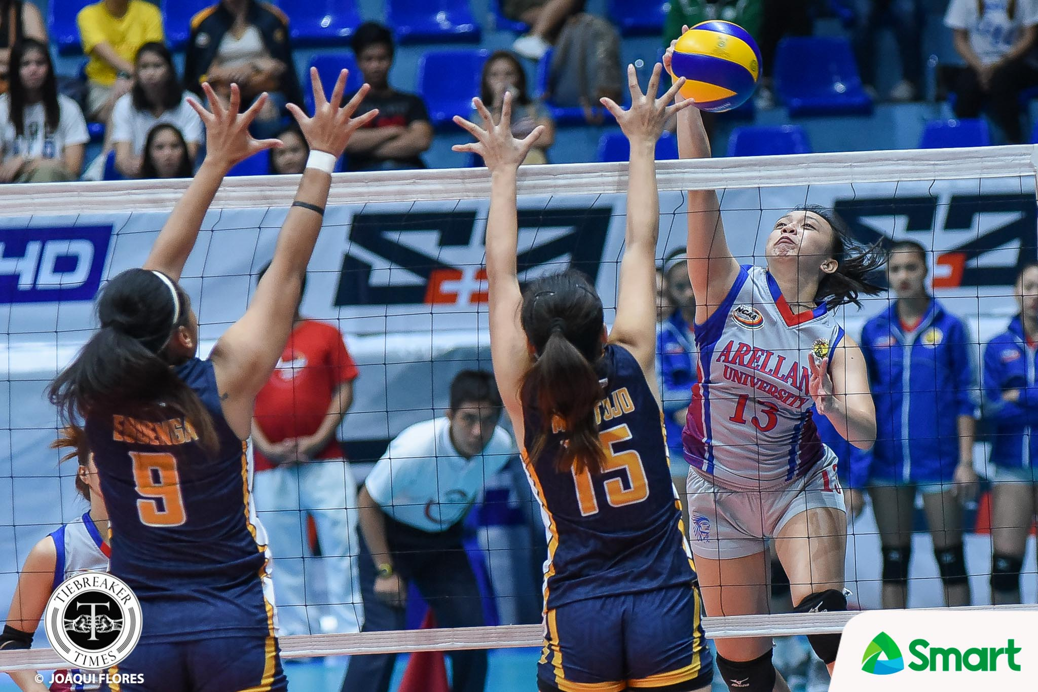 Tiebreaker Times Arellano ends JRU's cinderella run, cruises to second straight Finals AU NCAA News SBC Volleyball  Shola Alvarez Sarah Verutiao Regine Arocha Obet Javier NCAA Season 93 Women's Volleyball NCAA Season 93 Mia Teoseco JRU Women's Volleyball Faye Ramirez Dolly Versoza Arellano Women's Volleyball Andrez Marzan