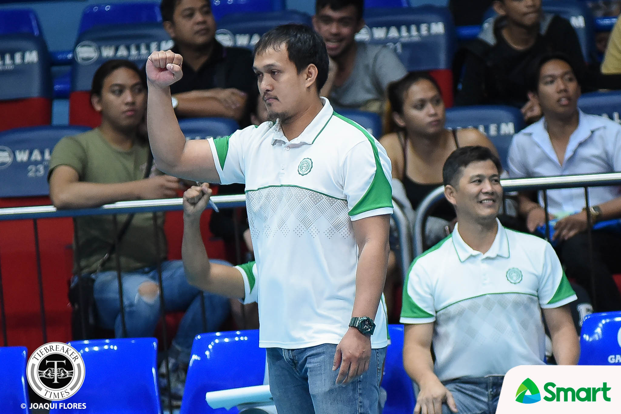 Tiebreaker Times Arnold Laniog named new La Salle Green Spikers head coach DLSU News UAAP Volleyball  UAAP Season 81 Men's Volleyball UAAP Season 81 DLSU Men's Volleyball Arnold Laniog