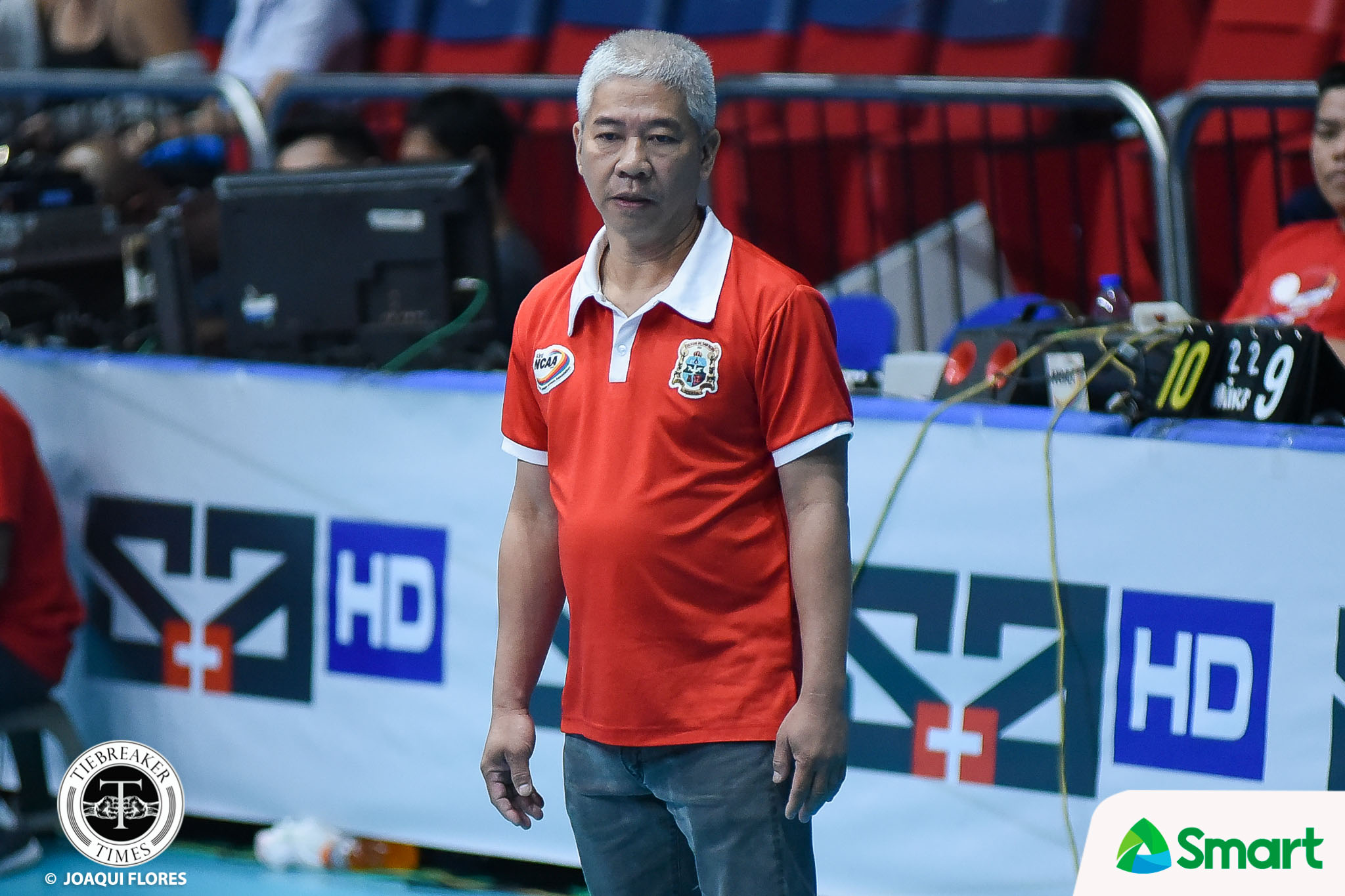 Tiebreaker Times Nes Pamilar, 52, passes away NCAA News PVL SBC Volleyball  Tacloban Fighting Warays San Beda Men's Volleyball Nes Pamilar NCAA Season 94 Men's Volleyball NCAA Season 94