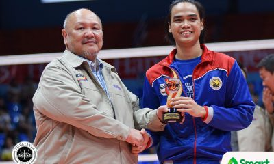 Philippine Sports News - Tiebreaker Times Christian Dela Paz motivated to bring first-ever title to Arellano AU Basketball NCAA News  NCAA Season 93 Men's Volleyball NCAA Season 93 Christian dela Paz Arellano Men's Volleyball