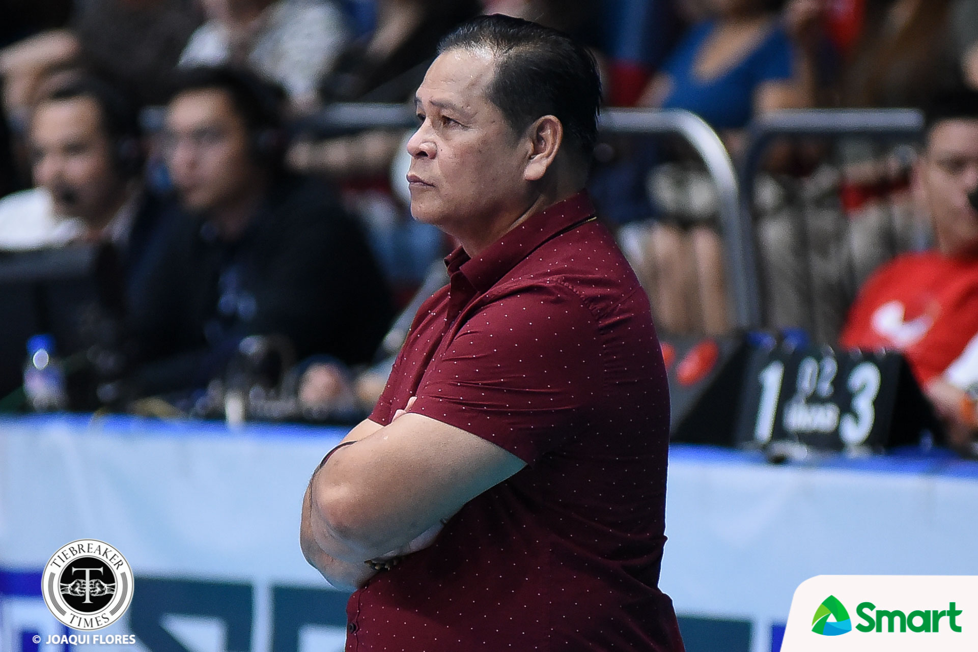 Tiebreaker Times Sammy Acaylar snaps complacent Altas back to form NCAA News UPHSD Volleyball  Warren Catipay Sammy Acaylar Perpetual Men's Volleyball NCAA Season 93 Men's Volleyball NCAA Season 93
