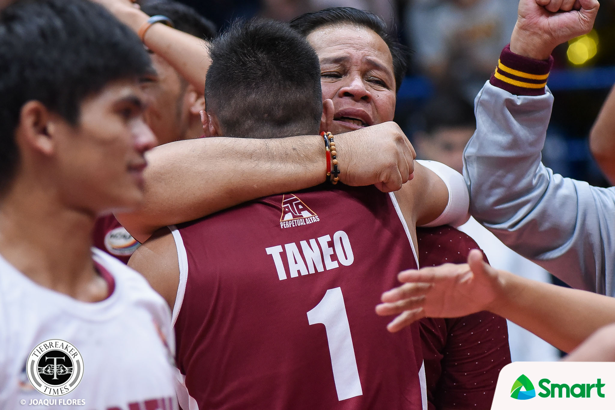 Tiebreaker Times Sammy Acaylar does part to help COVID-19 frontliners News UPHSD Volleyball  Sammy Acaylar Coronavirus Pandemic