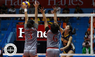 Philippine Sports News - Tiebreaker Times Lady Bombers set foot towards semis stint JRU LPU NCAA News Volleyball  Shola Alvarez NCAA Season 93 Women's Volleyball NCAA Season 93 Monica Sevilla Mia Tioseco Mary Grace Rivera Lyceum Women's Volleyball Karen Montojo JRU Women's Volleyball Emil Lontoc Dolly Verzosa Christine Miralles Bien Juanillo Annie Macaraya