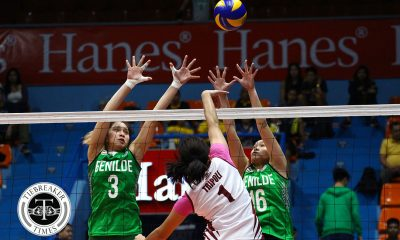 Tiebreaker Times Saint Benilde dashes Perpetual for second win; JRU topples Letran CSB CSJL JRU NCAA UPHSD  Saint Benilde Women's Volleyball Rachel Austero Perpetual Women's Volleyball NCAA Season 94 Women's Volleyball NCAA Season 94 Miracle Mendoza Michael Inoferio Michael Carino Mia Teoseco Melanie Torres Mary May Ruiz Marcy Rivera Letran Women's Volleyball Klarisa Abriam JRU Women's Volleyball Jewel Lai Jerry Yee Dolly Versoza Cindy Imbo Chamberlaine Cunada Blanca Tripoli Annie Sibangan