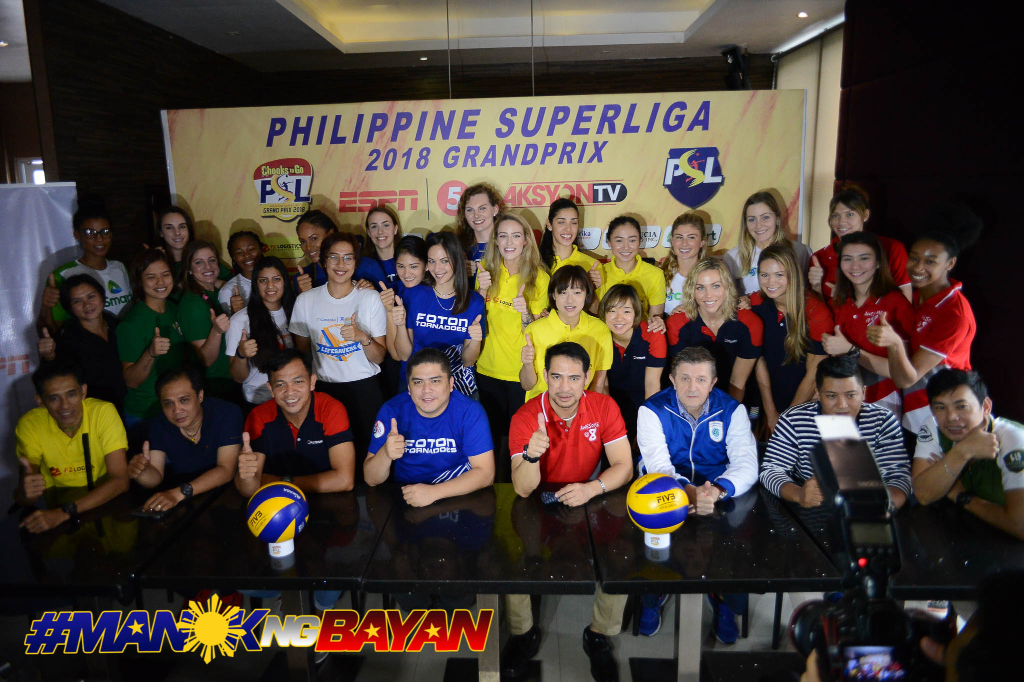 Philippine Sports News - Tiebreaker Times Imports ready to usher in 2018 PSL Season News PSL Volleyball  Tats Suzara Sta. Lucia Lady Realtors SMART Prepaid Giga Hitters Philip Juico Petron Blaze Spikers Generika-Ayala Lifesavers Foton Tornadoes F2 Logistics Cargo Movers Cocolife Asset Managers Cignal HD Spikers 2018 PSL Season 2018 PSL Grand Prix