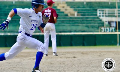 Tiebreaker Times Marquis Alindogan hits 5-for-5 as Ateneo turns UP game into showcase ADMU Baseball News UAAP UP  UP Baseball UAAP Season 80 Baseball UAAP Season 80 Tyrone Malana Paulo Macasaet Marquis Alindogan Javi Macasaet James Yang Emerson Barandoc Dan Laurel Ateneo Baseball Anthony Dizer