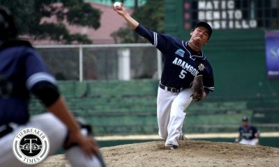 Tiebreaker Times Jerome Yenson plays MVP-like game as Adamson hands Ateneo first loss ADMU AdU Baseball News UAAP  UAAP Season 80 UAAP Seaosn 80 Baseball Paulo Macasaet Orlando Binarao Marquis Alindogan Jerome Yenson Javi Macasaet Erwin Bosito Emerson Barandoc Dino Altomonte Ateneo Baseball Adamson Baseball