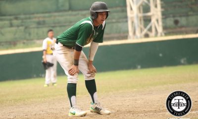 Tiebreaker Times Green Batters bombard Golden Sox in highly emotional match-up Baseball DLSU News UAAP UST  UST Golden Sox UAAP Season 80 Baseball UAAP Season 80 Paolo Salud Kiko Gesmundo Joseph Orillana Jeffrey Santiago Ian Llave DLSU Baseball Cholo Dominguez Arvin Herrera Alwen Calbang