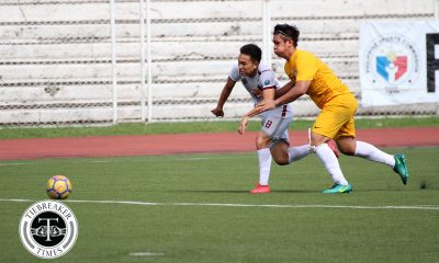 Tiebreaker Times Back to the future for FEU goalkeeper RJ Joyel FEU Football News UAAP  UAAP Season 80 Men's Football UAAP Season 80 RJ Joyel FEU Men's Football Bo Bae Park