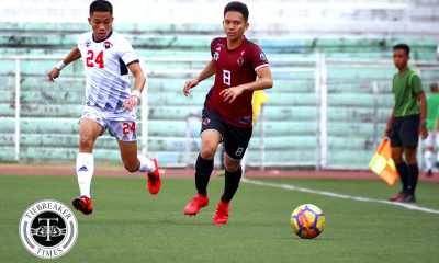 Tiebreaker Times Patience, discipline key as UP romps UE for second straight win Football News UAAP UE UP  UP Men's Football UAAP Season 80 Men's Football UAAP Season 80 Kintaro Miyagi Jose Anton Yared JB Borlongan Frank Rieza Fitch Arboleda Anto Gonzales