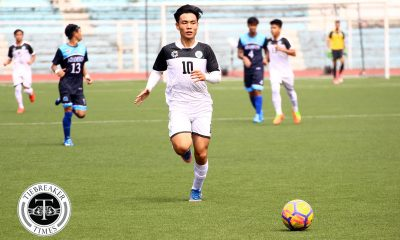 Tiebreaker Times Marvin Bricenio looks to fulfill big dreams in last year with UST Football News UAAP UST  UST Men's Football UAAP Season 80 Men's Football UAAP Season 80 Marvin Bricencio