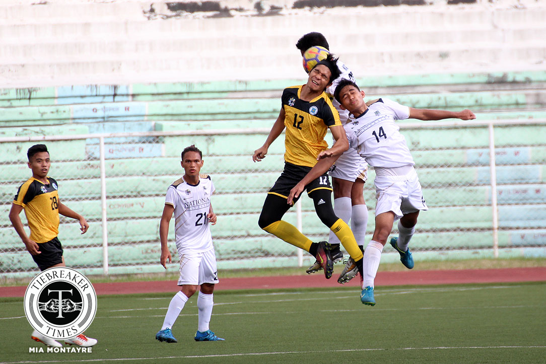 Philippine Sports News - Tiebreaker Times NU, UST settle for a point in frustrating stalemate Football News NU UAAP UST  Zaldy Abraham UST Men's Football UAAP Season 80 Men's Football UAAP Season 80 NU Men's Football Maverick Perocho Marjo Allado Mari Aberasturi