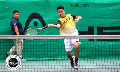 Philippine Sports News - Tiebreaker Times Tiger Tennisters fend off Fighting Maroons for opening day win News Tennis UAAP UP UST  Warren Lagahit UST Men's Tennis UP Men's Tennis UAAP Season 80 Men's Tennis UAAP Season 80 Mikko Ringia Joshua Cano Dave Mosqueda Clarence Cabahug Christian Cabahug Bernlou Bering