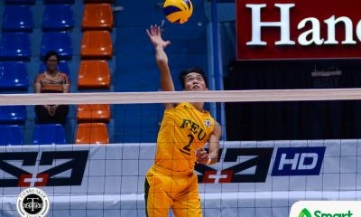 Tiebreaker Times Déjà Vu: FEU Tamaraws pacing themselves following fiery opening day win FEU News UAAP Volleyball  UAAP Season 81 Men's Volleyball UAAP Season 81 Richard Solis Rey Diaz FEU Men's Volleyball