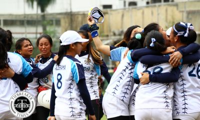 Tiebreaker Times Khrisha Cantor lifts Adamson to the Final Four; Ateneo picks up breakthrough win ADMU AdU DLSU News NU Softball UAAP UE UST  Yla Trinidad UST Softball UE Softball Sandy Barredo NU Softball Mia Macapagal Lyca Basa Lovely Redaja Krisha Cantor Kevyn Lacson Joy Lasquite Joseph Orillana Jamica Arribas Imee Salvador Gabby Macatulad Egay delos Reyes Edzel Bacarisas DLSU Softball Ateneo Softball Ann Antolihao Ana Santiago Adamson Softball