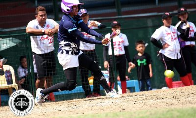 Tiebreaker Times Jenette Rusia slams 3rd HR, Flor Pabiana has 4 RBIs as Adamson sweeps first round AdU News Softball UAAP UE  UE Softball UAAP Season 80 Softball UAAP Season 80 Lyca Basa Lovely Redaja Jenette Rusia Flor Pabiana Edzel Bacarisas Ana Santiago Adamson Softball