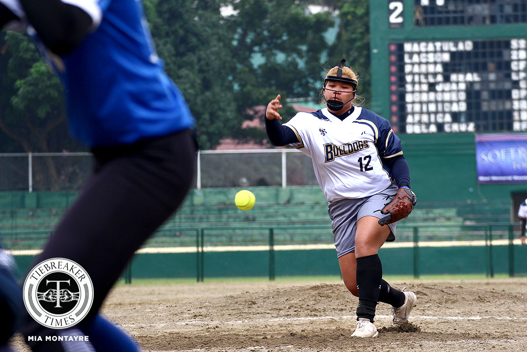 Philippine Sports News - Tiebreaker Times Mia Macapagal takes charge as NU pounds Ateneo for second straight win ADMU News NU Softball UAAP  UAAP Season 80 Softball UAAP Season 80 NU Softball Mia Macapagal Mary Joy Lumhod Kaira Ventosa Joy Lasquite Egay delos Reyes Ateneo Softball