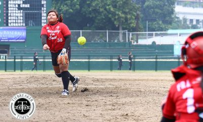 Tiebreaker Times Michelle Mercado's HR caps UE's dominant win over UP News Softball UAAP UE UP  UP Softball UE Softball UAAP Season 80 Softball UAAP Season 80 Ron Pagkaliwagan Michelle Salvador Lovely Redaja Katherine Soliven Edzel Bacarisas Cochise Diolata