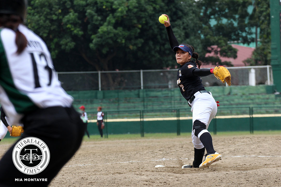 Tiebreaker Times Tiger Softbelles vent ire on Lady Batters to arrest two-game skid DLSU News Softball UAAP UST  UST Softball UAAP Season 80 Softball UAAP Season 80 Sandy Barredo Lea Guevarra Joseph Orillana Jessie Belano Jamica Arribas Hannah dela Torre DLSU Softball Ann Antolihao
