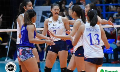 Philippine Sports News - Tiebreaker Times Maddie Madayag, Lady Eagles relishing uplifting start to second round ADMU News UAAP Volleyball  UAAP Season 80 Women's Volleyball UAAP Season 80 Maddie Madayag Ateneo Women's Volleyball