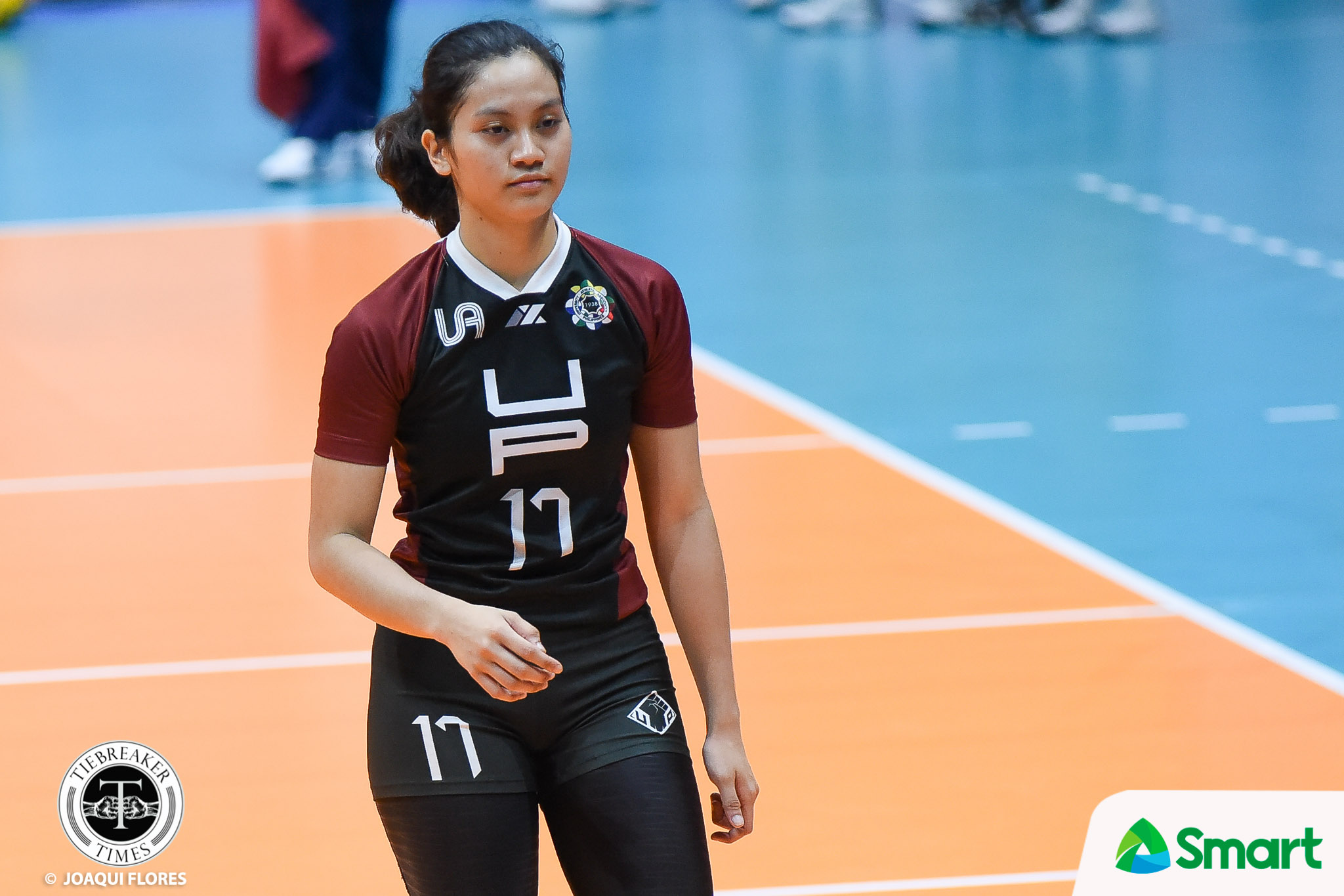 Tiebreaker Times Do-it-all Ayel Estrañero comes up clutch for Lady Maroons News UAAP UP Volleyball  UP Women's Volleyball UAAP Season 80 Women's Volleyball UAAP Season 80 Arielle Estranero