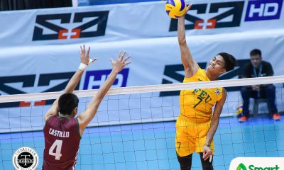 Philippine Sports News - Tiebreaker Times Tamaraws stifle Fighting Maroons to clinch playoff spot FEU News UAAP UP Volleyball  Wendel Miguel UP Men's Volleyball UAAP Season 80 Men's Volleyball UAAP Season 80 Rikko Marmeto Rey Diaz Redijohn Paler Owen Suarez Mac Millete Jude Garcia Hans Chuacuco FEU Men's Volleyball