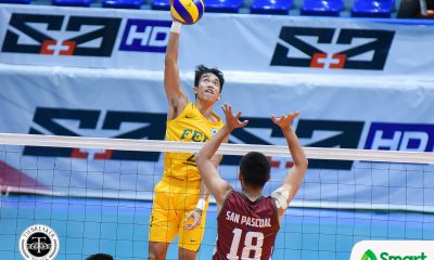Tiebreaker Times Error-riddled Tamaraws squeak past Fighting Maroons for solo lead FEU News UAAP UP Volleyball  Wendel Miguel UP Men's Volleyball UAAP Season 80 Men's Volleyball UAAP Season 80 Rikko Marmeto Richard Solis Rey Diaz Owen Suarez Mark Millete Jude Garcia Hans Chuacuco FEU Men's Volleyball