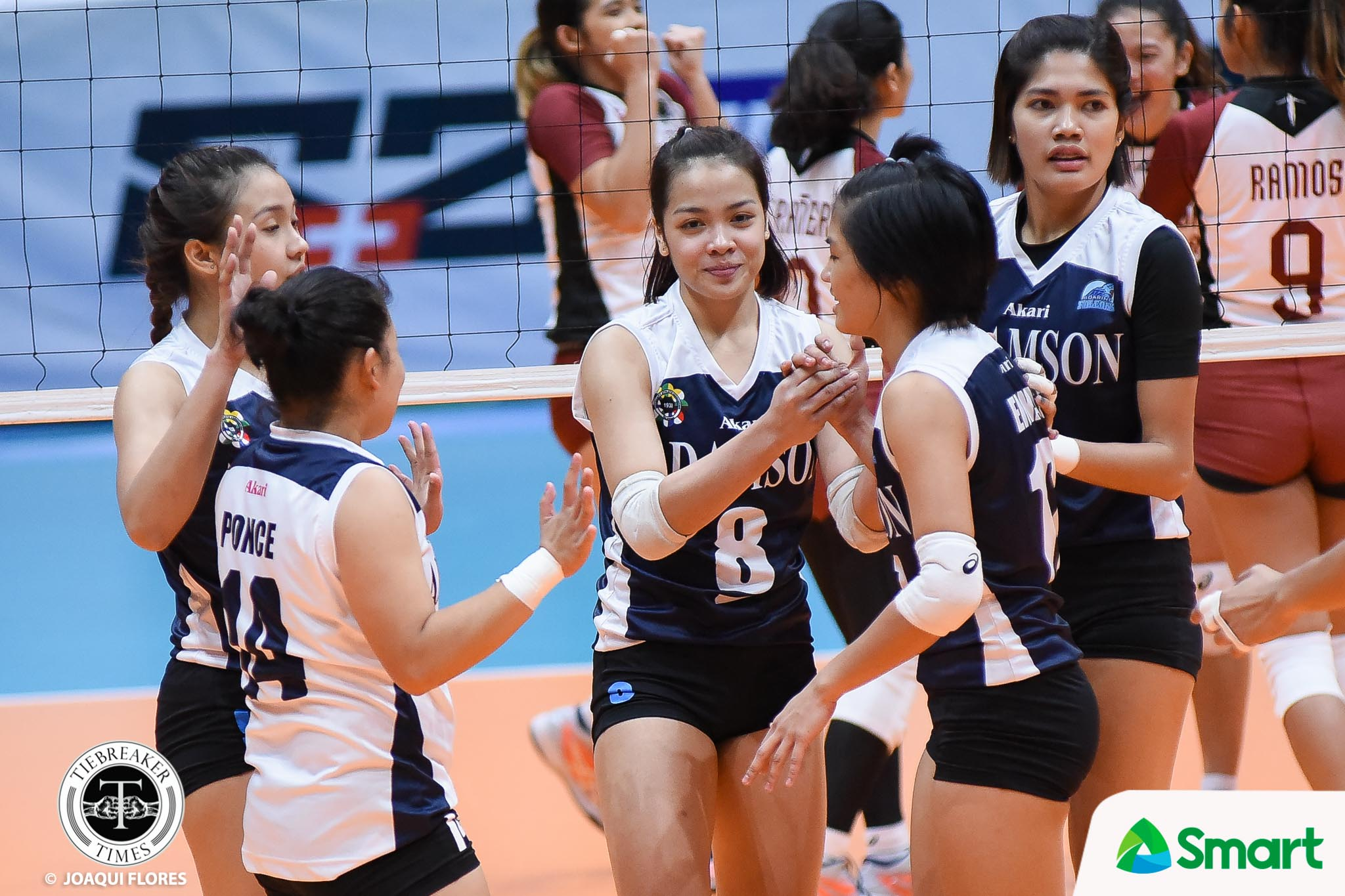 Philippine Sports News - Tiebreaker Times Doubling last season's win total a small achievement for Lady Falcons AdU News UAAP Volleyball  UAAP Season 80 Women's Volleyball UAAP Season 80 Air Padda Adamson Women's Volleyball