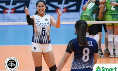 Tiebreaker Times SOURCES: Risa Sato to miss NU Lady Bulldogs' Season 81 campaign News NU UAAP Volleyball  UAAP Season 81 Women's Volleyball UAAP Season 81 Risa Sato NU Women's Volleyball